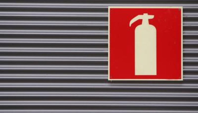 Regulations, Fire Extinguishers, Construction Equipment