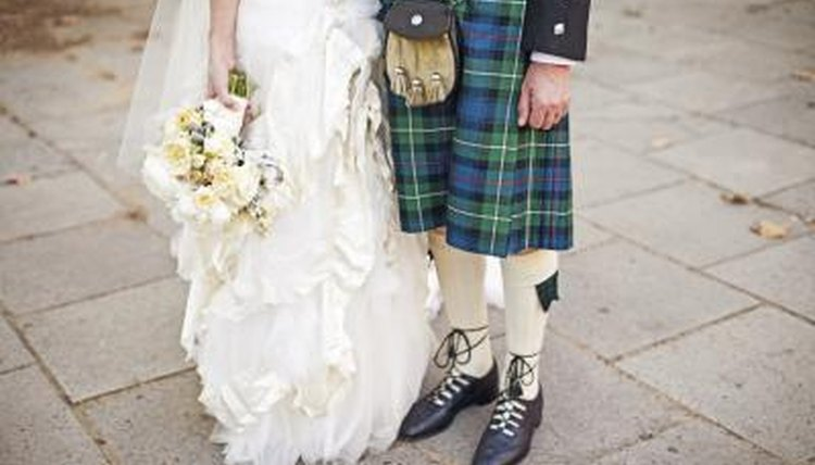 Tartans and kilts are the most recognizable pieces of traditional Scottish clothing.