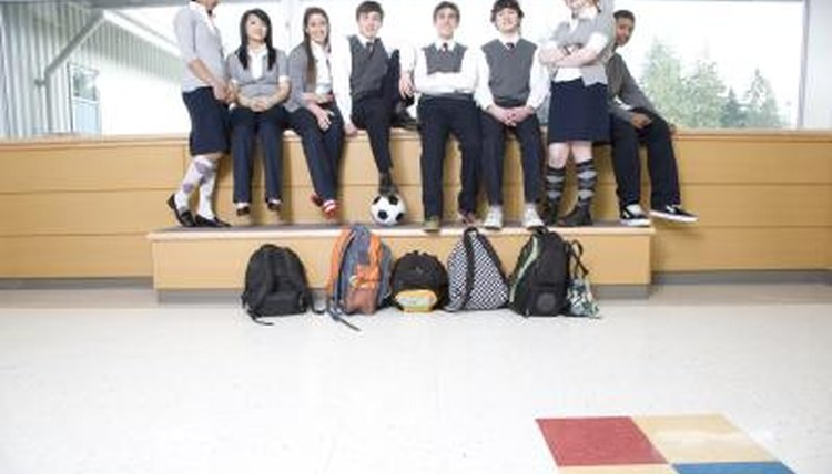 the problem of cliques in american high schools and school uniforms as a solution Learn about the 10 biggest problems with public schools today, both from the perspective of the administrators and the teachers  no more prayer at high school .