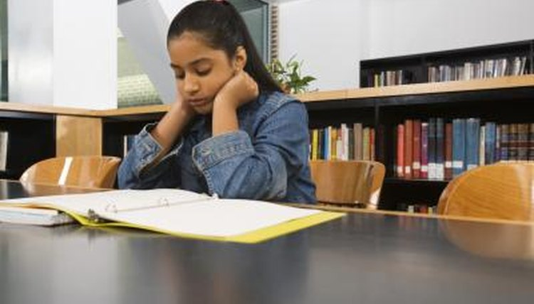 Writing stories helps sixth-graders think creatively and critically.