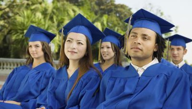 Undergraduate degrees are known as bachelor's degrees.