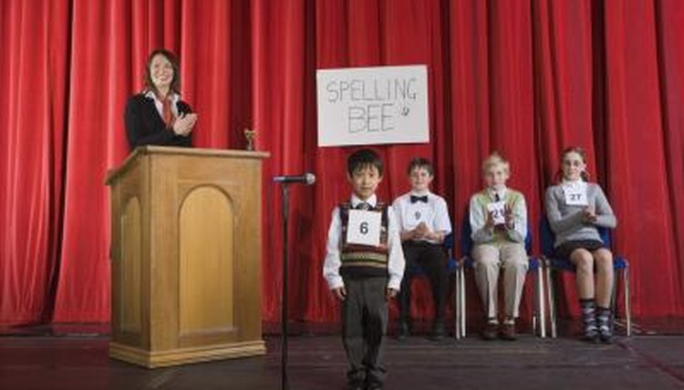 Mastering digraphs and blends helps win spelling bees.