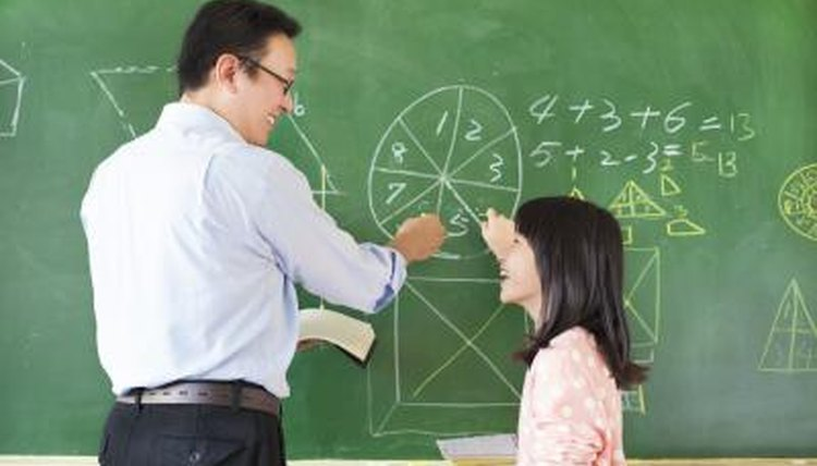 Image of teacher and her student.