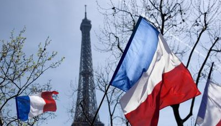 Teach kids about the culture of France with reference to famous French landmarks.
