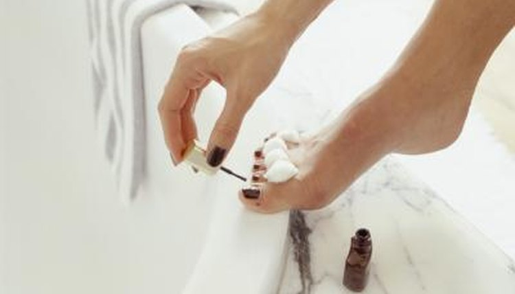 Nail polish can be used for many scientific experiments.
