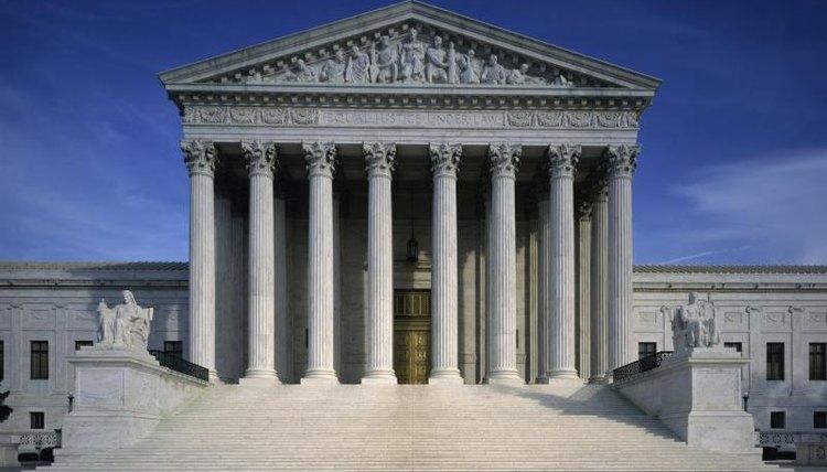 The US Supreme Court, in Washington D.C.