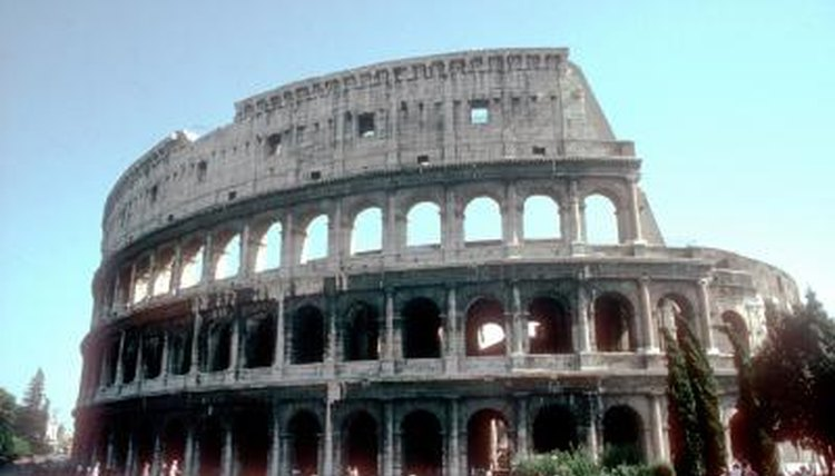 Bring Rome to your classroom with a model of the Colosseum.