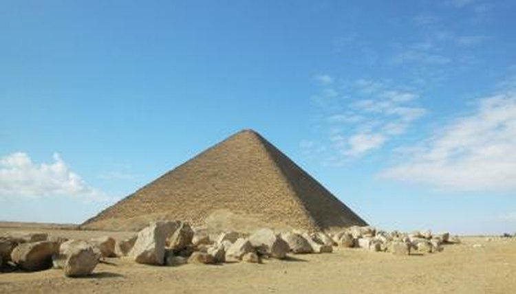 Sixth graders study the ancient Egyptian pyramids.