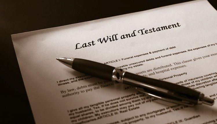 The estate administration process is also called probate.