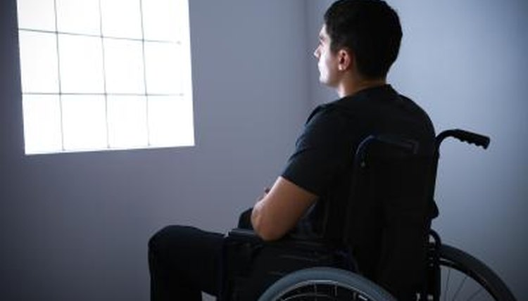 One goal of the Americans with Disabilities Act is to insure that disabled Americans can participate in life and sit and stair out a window.