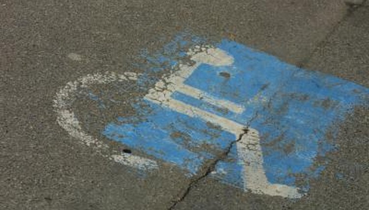 Keep your disabled parking permit current in order to continue using the designated parking spaces.