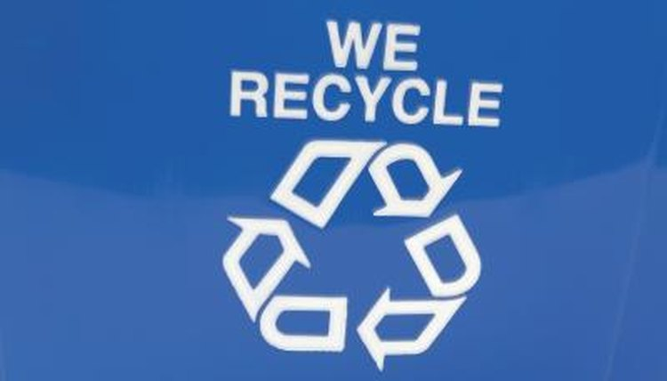 Using recyclable materials saves money and teaches children the importance of recycling.