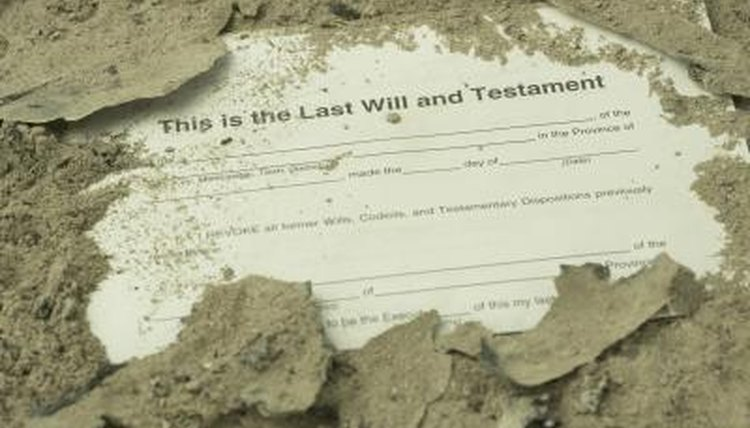 Finding someone's last will and testament might take some digging.