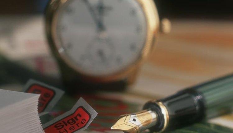 Close-up of pen.