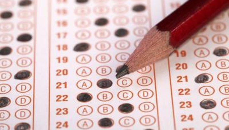 As a standardized test, an IQ test measures performance against the average population and criterion benchmarks.