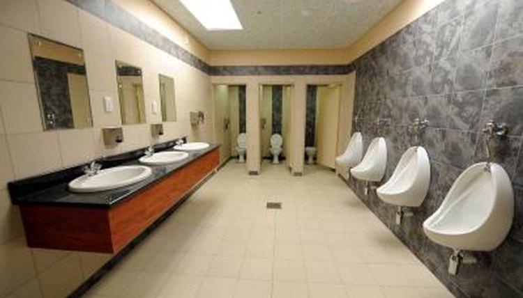 Restroom view