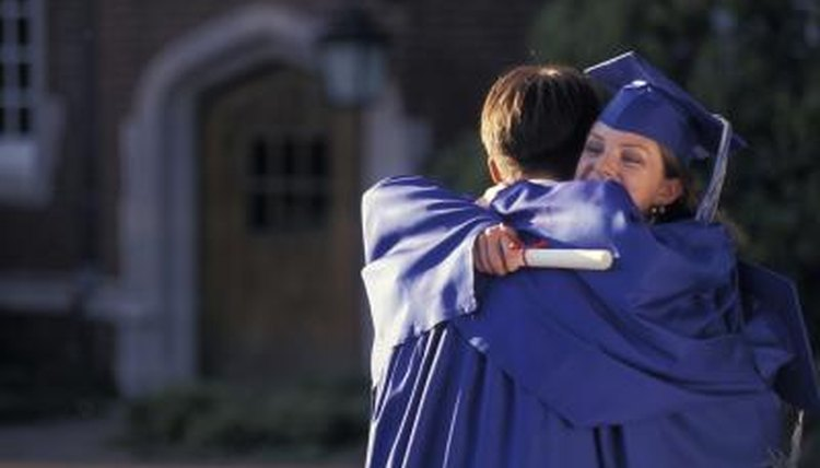 When students have completed their degree requirements, they receive a diploma.