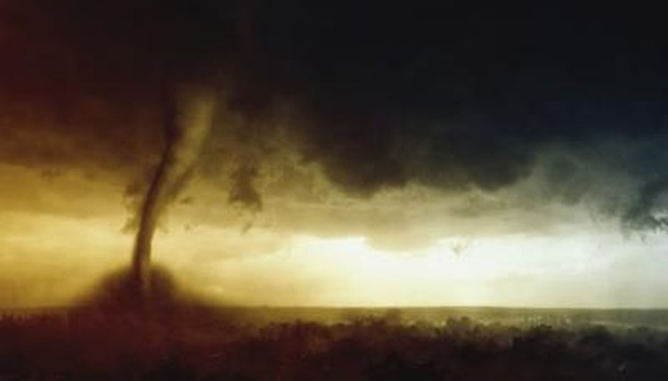 The funnel cloud of a tornado is a frightening sight. Be prepared.