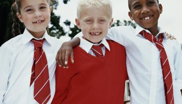 School uniforms usually come in several style options.