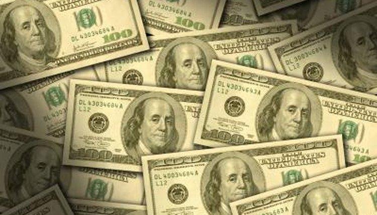 American $100 bills.