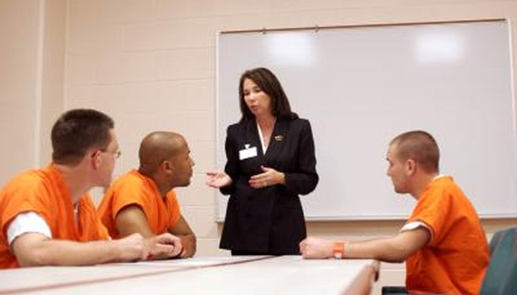 Social workers can help inmates sign and send powers of attorney.