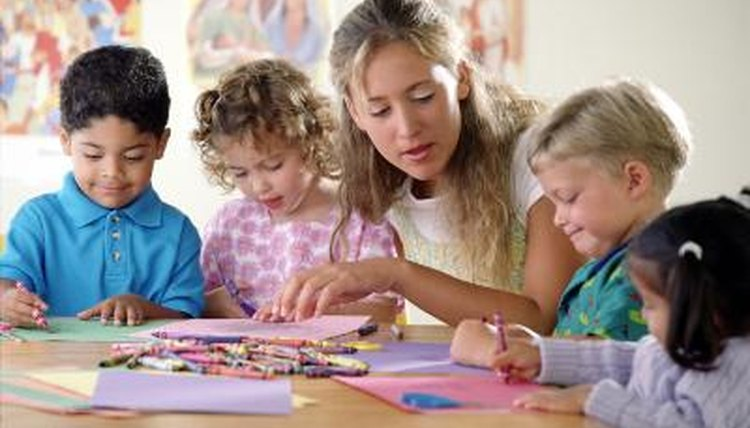 Plan lessons that meet the needs and interests of preschool-aged children.