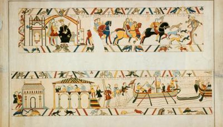 Bayeux's Notre-Dame Cathedral displayed the medieval Bayeux Tapestry for hundreds of years.