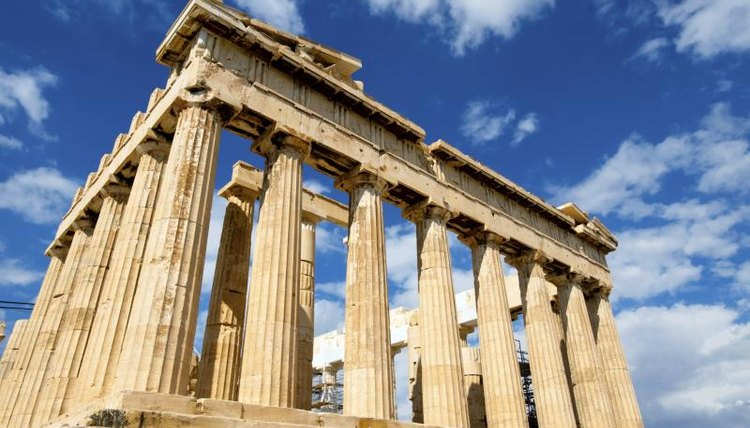 About 500 years before the Greeks built the Parthenon, the Phoenicians introduced the counting system the Greeks used.