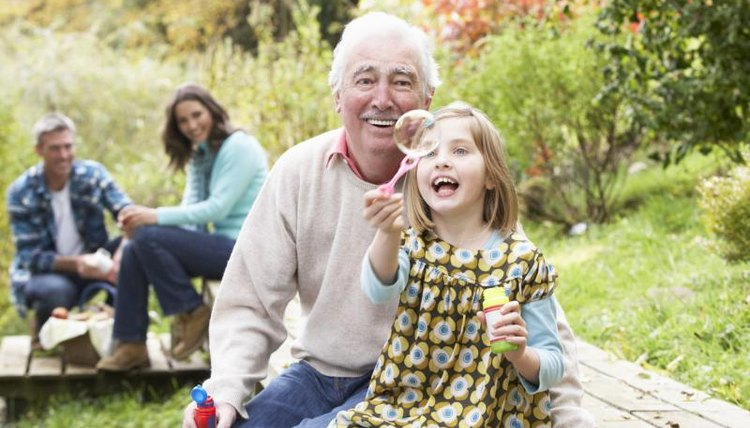 Grandparents Day is one theme idea for September.