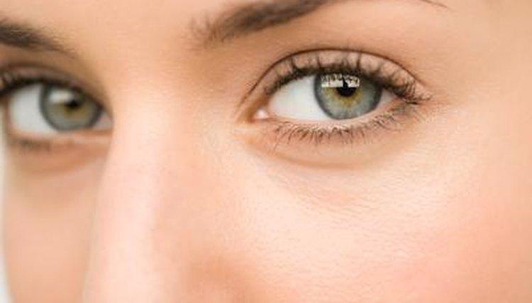 Close up of eyes.