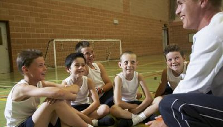 Young athletes enjoy the benefits of playing middle school sports.
