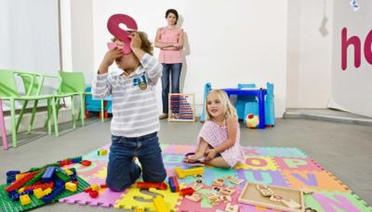 Preschool tends to be more play-oriented than kindergarten.