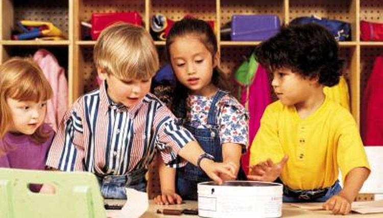 Learning centers give a hands-on experience to material.