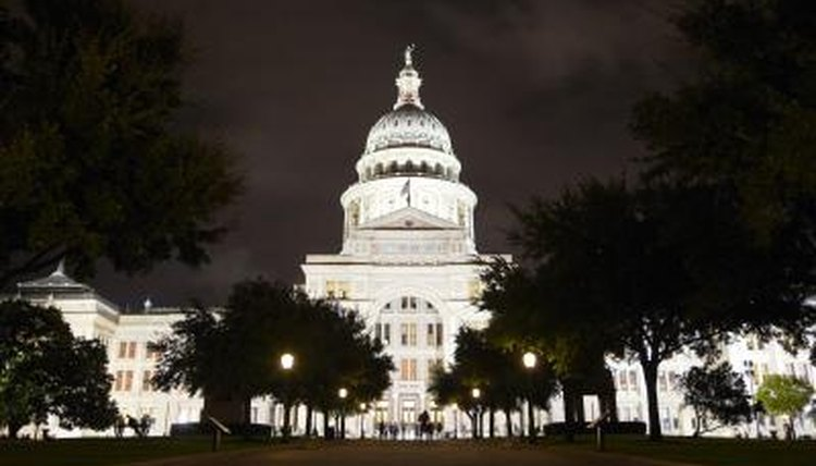 The state of Texas classifies felonies in five separate categories.