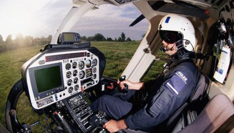 Certain high school classes prepare people for helicopter pilot training.