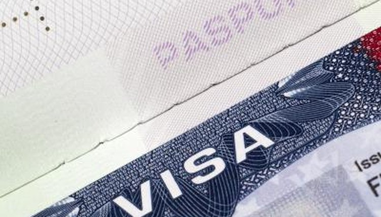 Keep your visa with your passport when you arrive in the U.S.