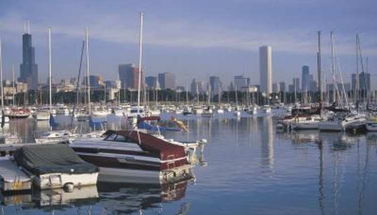 Boats are considered personal property and have titles of ownership.