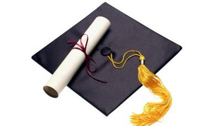 A college diploma represents a significant achievement.