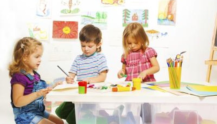 Expose preschoolers to a variety of activities to expand language development.
