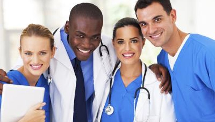 A group of medical students.