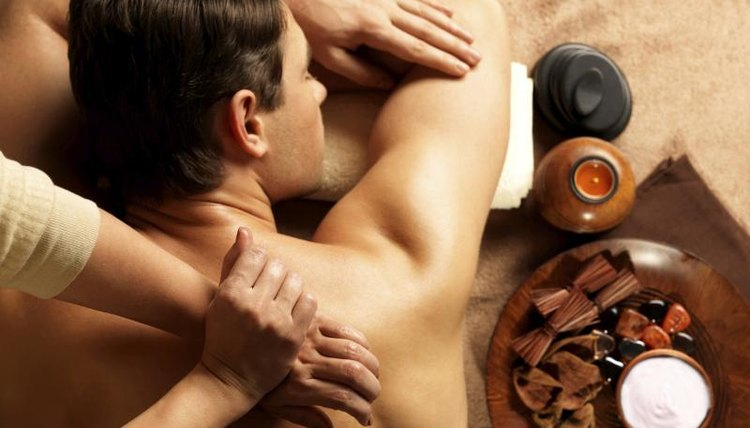 Massage therapy can include the use of oils.
