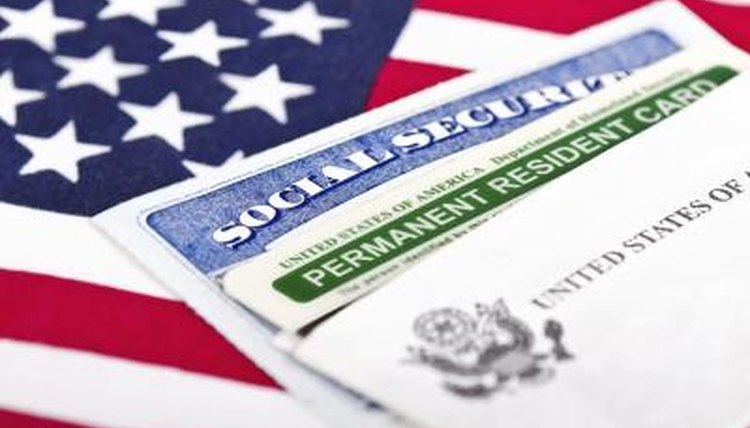 a fake green card, the law