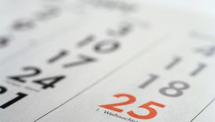 The Gregorian calendar was named for Pope Gregory XIII.