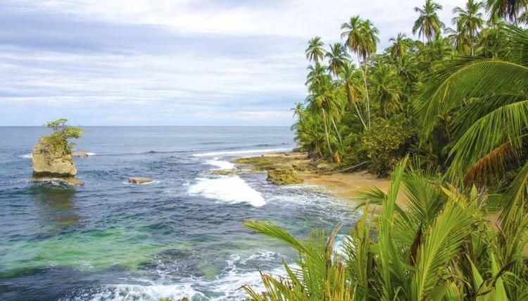Beach in Costa Rica.