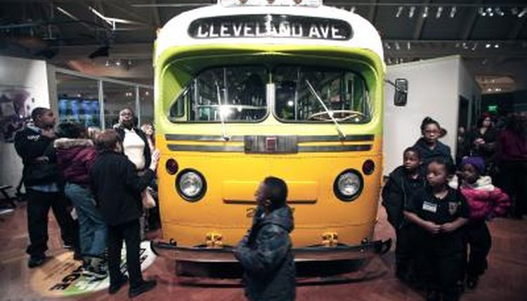 Rosa Parks Montgomery bus