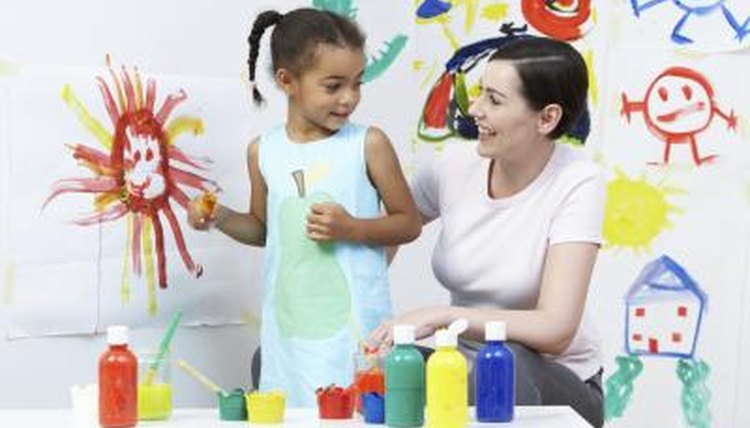 Nursery school can be full of all different kinds of activities.