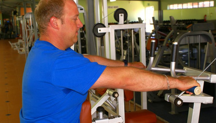 What Muscles Do Exercise Machines Work?