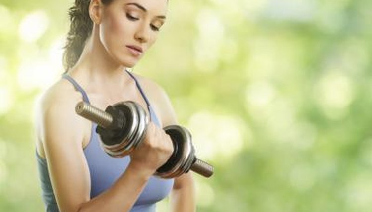 Exercises to Tone a Girl's Arms