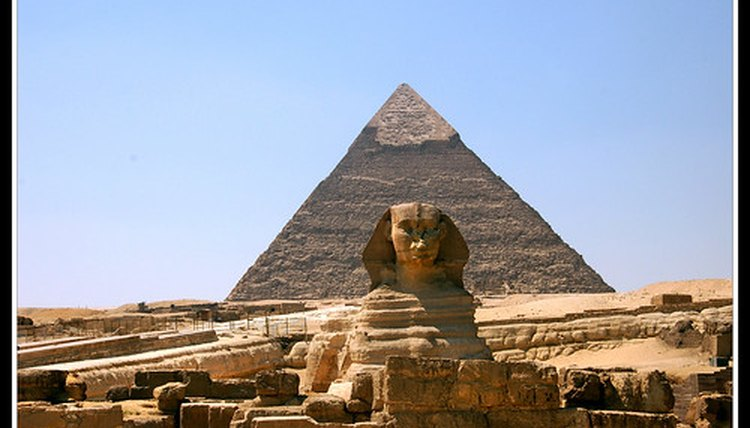 Khufu's Pyramid at Giza, one of the seven wonders of the world