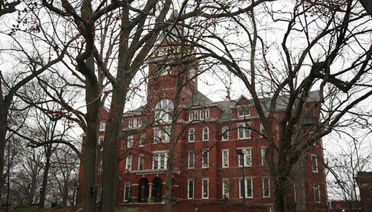 College campus building.